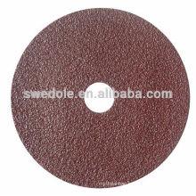 resin over resin bond Abrasive Polishing Fibre Disc