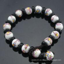 La más nueva pulsera SB-0223 de los granos de la porcelana del estilo del vintage del diseño 2012