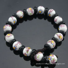 2013 Newest Design Vintage Style Porcelain Beads Bracelet SB-0223