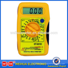 Pocket-size Multimeter DT831D with Buzzer battey test