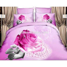3D bed sheet sets material polyester