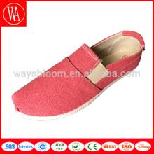 wholesale китайские туфли 2018 без шнуровки женские красивые плоские туфли Леди женские летние парусиновые туфли