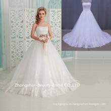 2016 Schleppe Ball Kleid Mode neueste Brautkleid