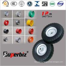 Flat Free Polyurethane Wheel (4.10/3.50-4)