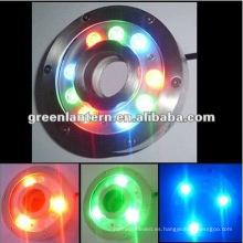 RGB LED fuente de luz de cascada