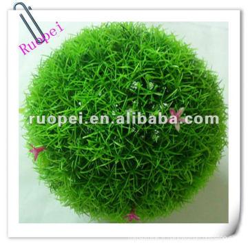 Boule de gazon artificiel maison et décoration suspendue balle d'herbe