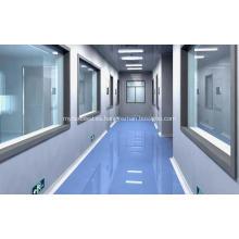 Sala limpia libre de polvo como farmacia
