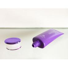 Chapeamento de tampa de parafuso fosco com tubo Oval PE com acabamento pérola
