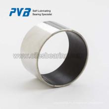 Rodamientos lisos de baja fricción de polímero metálico, igual que el material DP4.