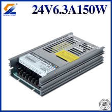 Slim LED Transformer 24V 150W do oświetlenia LED