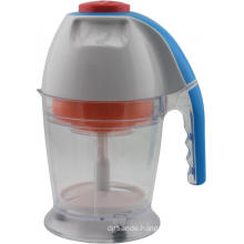 Household food chopper for chopping carrots