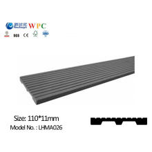 WPC Wall Panel with SGS CE Fsc ISO WPC Plank Garden Plank Decorative Board for Dustbin Fence Bench Decking Wall Cladding