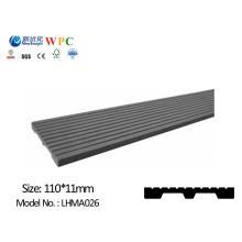 Painel de parede WPC com SGS CE Fsc ISO WPC Tábua Plank Placa Decorativa para Dustbin Fence Bench Decking Wall Revestimento
