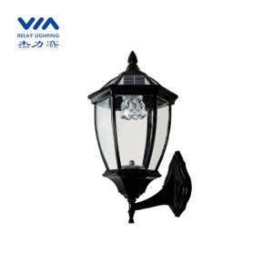 solar powered garden lamps lanterns wall mounted