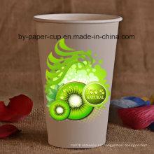 8oz Bebida fría Berage Copa de papel