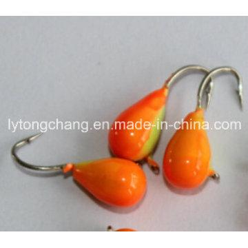 Tungsten Regentropfen Eis Jig Kopf 3,0 mm USD0.17 / PC aus China Hersteller