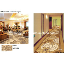 Lana Jacquard tejida a máquina Pared a pared Hotel Corridor Carpets