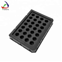 1020 Shallow Nursery Plant Black Hydroponic Tray
