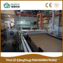 6 pies de impresión papel de melamina decorativos haciendo máquina / máquina de proceso de pegamento de papel / papel impregnado haciendo línea