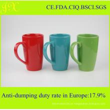 Atacado Eco-Friendly Glaze caneca de cerâmica para o café