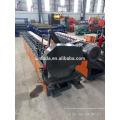 Serra cortando a porta do obturador A folha de aço Roll que dá forma à máquina