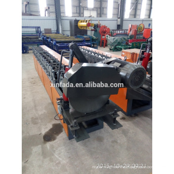 Saw cutting Shutter Door Steel Sheet Roll Forming Machine