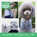 grey pet cotton clothing, beautiful dog clothes