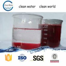 agente de descoloração de água usado em aparelhos de tratamento de águas residuais