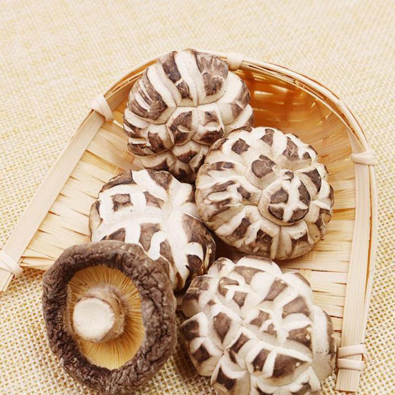 Dried White Flower Mushroom