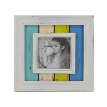 "Wooden Antique Frame in 4"" for Desktop"