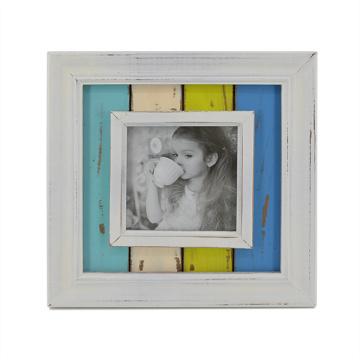 """Wooden Antique Frame in 4"""" for Desktop"""