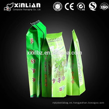 Bolsas de té de plástico de vacío con diseño colorido