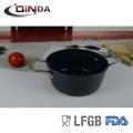 Le Vietnam a forgé la casserole en céramique avec le couvercle