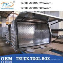 cofre de herramientas de camión de aluminio venta caliente