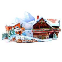 3D Ski Resort Puzzle