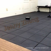 Square Tile Rubber Gym Mats Rubber Playground Tiles
