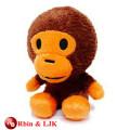 ICTI Audited Factory High Quality Custom Promotion Mohawk monkey plush toys