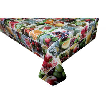 Nappe en PVC multi fruits
