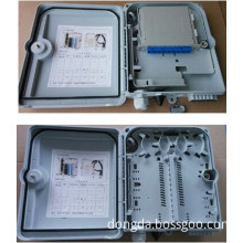 FTTH indoor/outdoor Fiber Optic Distribution Box Branch Frame 24core ABS/PC water-proof IP55