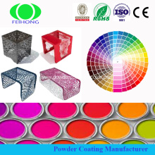 Steel Substrate  Powder Coating through industrial tunnel ovens with RAL colors