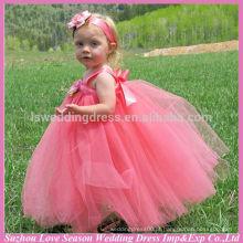 HF5003 OEM Aceptado de alta qualidade Fábrica Preço modelos florais modelo de modelo infantil aniversário para bebé vestido de garota de 2 anos