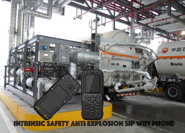 Intrinsic Safety Anti Explosion SIP WIFI Phone