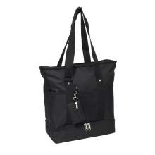 30L Large Capacity Oxford 600d Water-Resistance Handbags Beach Bag Function Tote Shopping Bag with Small Pocket