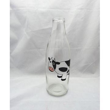 Bouteille de lait de verre 960ml