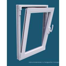 Окно наклона и поворота окна с застекленным алюминиевым профилем