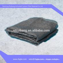 tejido de fibra de carbono activado