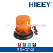 2015 LED amber camión de la lámpara de alarma LED de luz de advertencia, de rotación magnética y luz de emergencia LED Beacon Estroboscópico