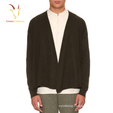 Men Cashmere Open Front Cardigan Hot Selling