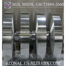 Hoja de aluminio, bobina de aluminio para aire acondicionado Condensadores y evaporadores