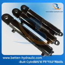 Cilindros de carregador hidráulico de trator duplo